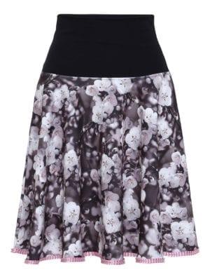 Lola skirt black fleur