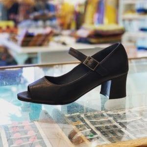 Anna 1 Shoe Black Leather