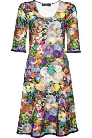 Yvette dress mushroom, purple