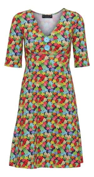 Bibbi Dress Multi flower