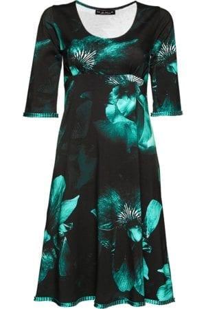 Yvette Dress Aqua, petrol