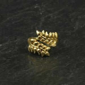 Fingerring Leaf/guld