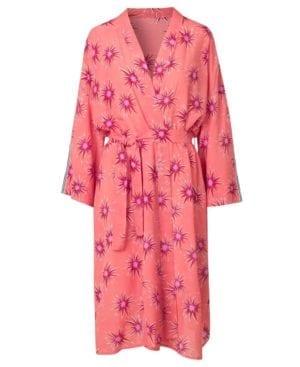 Gezane kimono, Coral