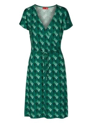 WTG Wrappy Dress, Green