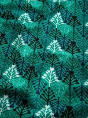 WTG Wrappy Dress, Green