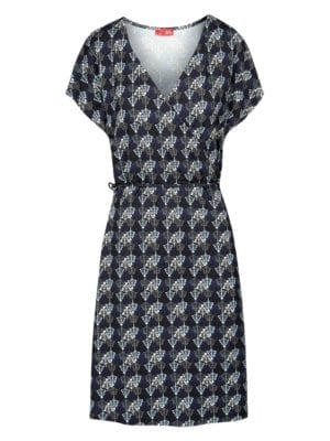 WTG Wrappy Dress, Navy