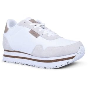 Nora ll Sneakers Plateau Bright White
