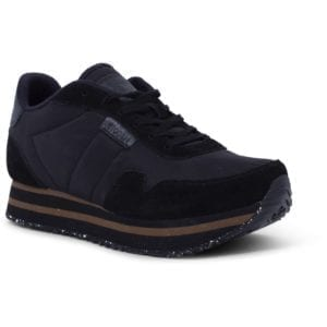 Nora ll Sneakers Plateau Black