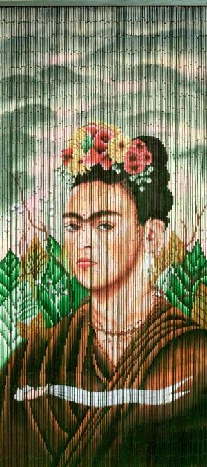 Frida kahlo Bambus forhæng