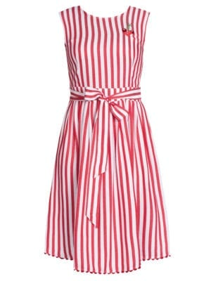 Pick a Cherry,red/white stripes