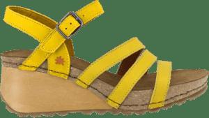 ART sandal BORNE Microfiber Yellow