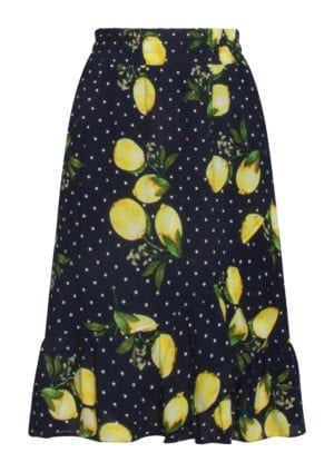 Skirt Lemon dot