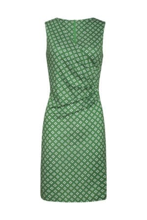 Dress green hearts