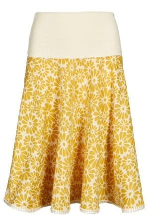 Lola skirt yellow flower