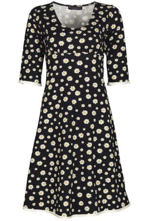 Stella Dress black daisy