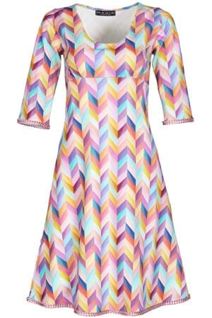 Stella Dress kaleidoscope