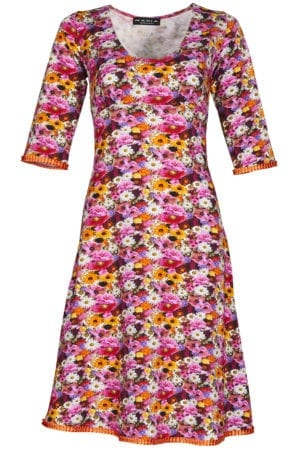 Stella Dress multi daisy