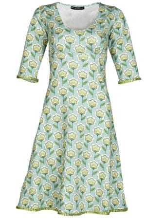 Stella Dress Vintage fleur mint