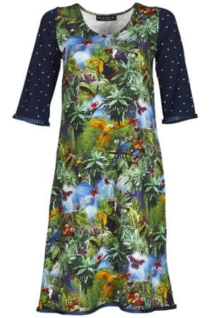 Alice dress rainforrest