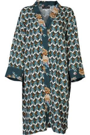 MANIA Copenhagen Kimono retro petrol