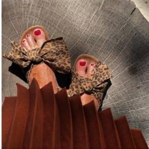 Nova sandal leopard