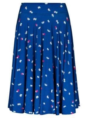 WTG Saniye skirt, cobalt