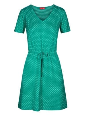 WTG Distinct dress, green