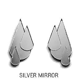 Let it rain-Mirror silver