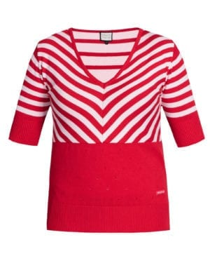 Stripes lover red