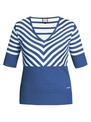 Stripes lover blue