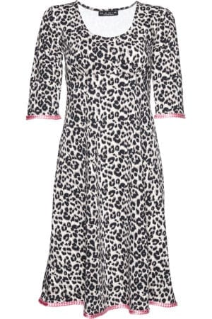Stella Dress Leopard pink