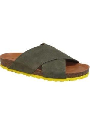 Annet sandal soft suede army