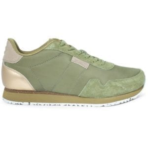 Nora ll Sneakers Lizard green