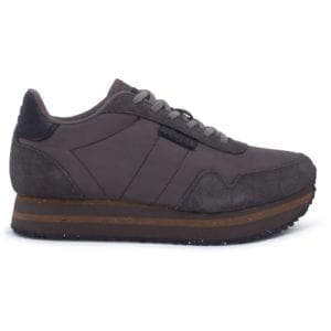Nora ll Sneakers Plateau Brown clay