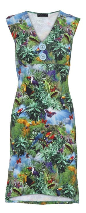Pin-Up Dress rainforrest