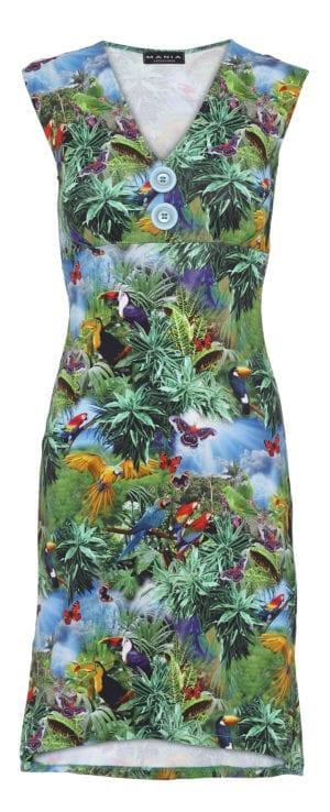 Pin-Up Dress rainforrest