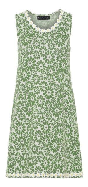 Alice Dress Retro Flower green