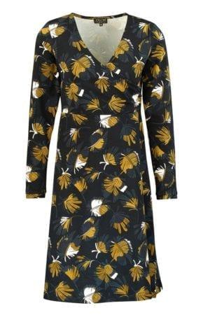Dress Feathers mustard