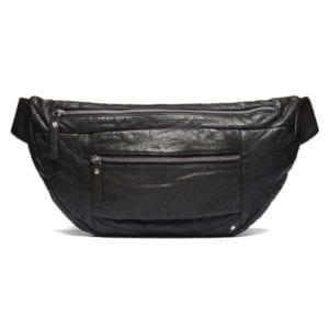 Oversize bæltetaske i blødt skind / 10736