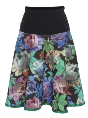 Lola skirt  colorfull Origami