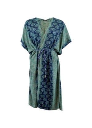 LUNA kimono dress midnight