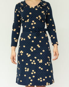 Dress-Vintage moment Navy