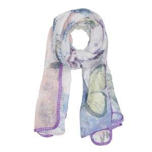 Tørklæde Purple Art