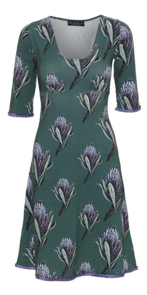 Stella Dress Violette Botanique
