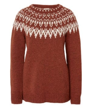 Jumperfabriken Veda sweater rust