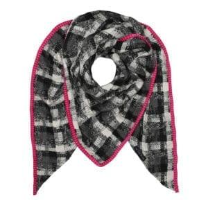 Scotch black/white, pink