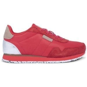 Nora ll Sneakers Ribbon Red
