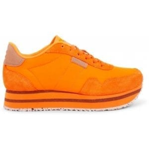 Nora ll Sneakers Plateau Bright Orange