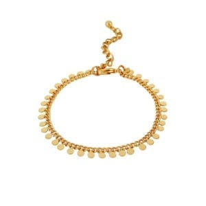 Indian Flat Bracelet Gold Plating