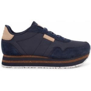 Nora ll Sneakers Plateau Navy blue